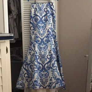 Sherri Hill prom dress skirt